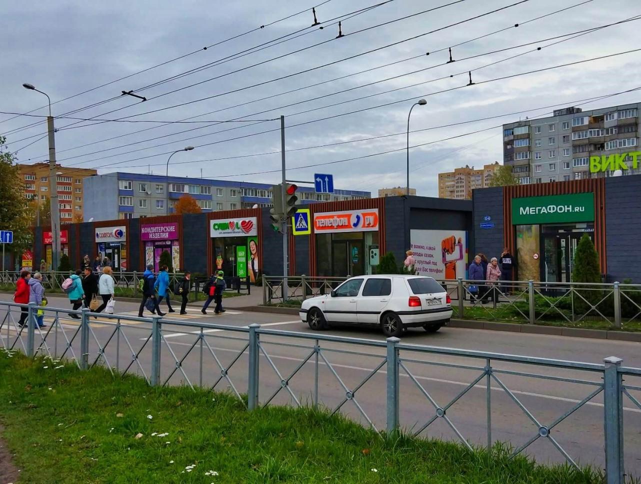 Торговые павильоны ул.Ульяны Громовой 13б-13в
