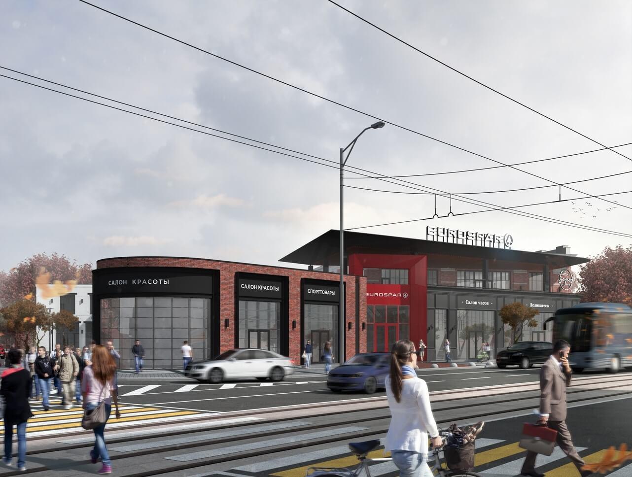Новый торговый центр Советский проспект